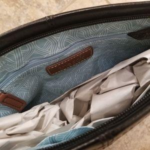 The Sak Bags - NEW THE SAK LEATHER BLACK CROSSBODY STRAP PURSE